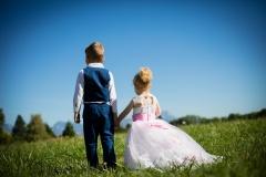 Enfants photo mariage